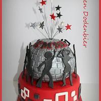 Disco dancer cake! by Karen Dodenbier
