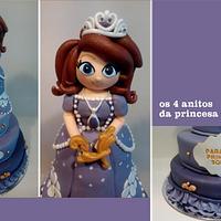 Soraia's Princess Sofia Cake!