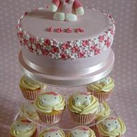 Hello Kitty cake tower