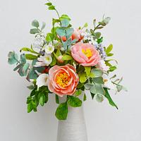 Soft colours Spring arrangement