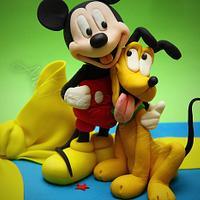 mickey and pluto...1