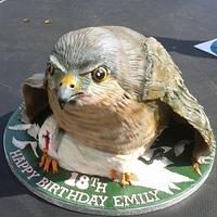 Sparrowhawk Bird cake