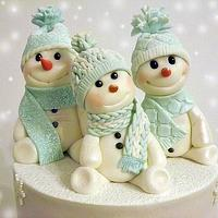 Snowmens for my little daughter