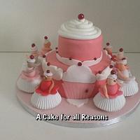 Cupcake Princess Castle