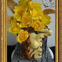 Surrealist flowers - Dali in sugar
