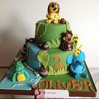 Raa raa the noisy lion cake