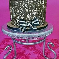 Tiramisu hairdresser cake