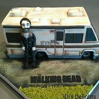 The Walking Dead RV Cake