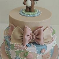 Patchwork puppy by Shereen