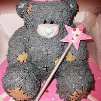 me 2 u teddy bear cake