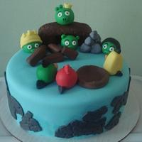 Angry Birds Cake 1
