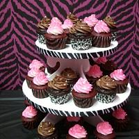 Red Velvet and Devils Food Cupcakes