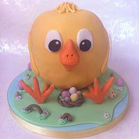 Easter Cake - Eggbert