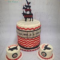Twin Farm Cake