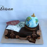 Cake for a traveler