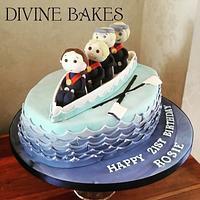 Rowing Regatta 21st Cake