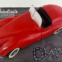 3D Car Cake Jaguar XK 120