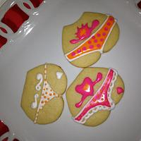 Sugar cookies. Perfect for a bachelor party.