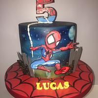 Spider-Man does New York  by Claire Lynch - Quirky Cake Designs