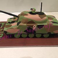 Camo Army Tank