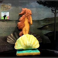 Colaboración primavera con arte (El nacimiento de Venus) Botticeli by Rocio ortega