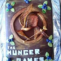 THE HUNGER GAMES CAKE