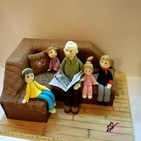 birthday cake for great-grandfather