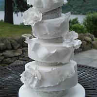 Definitely NOT a vintage Wedding cake