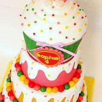 Giant cupcake - cake