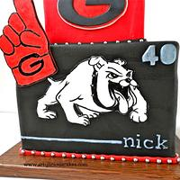Georgia Bulldogs by iriene wang
