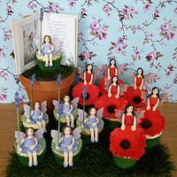 Flower Fairies Cupcakes