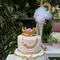 Princess's Flowers Cake