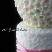 Spring Blossom Communion Cake by Not Just A Cake