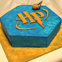 Harry Potter Logo cake
