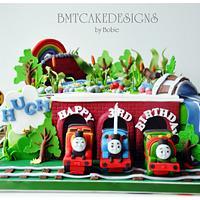 Thomas, Percy, James for Hugh by Bobie MT