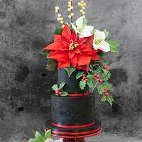 Tarta de la Navidad - Christmas cake