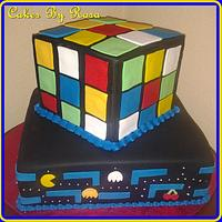 Pac-Man Cake by Rosa