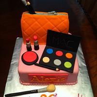 MAC Cosmetic Cake