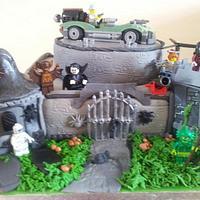Lego Monster Fighter cake