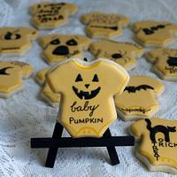 Kylie & Mark's baby shower cookies