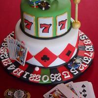 60th Birthday Casino Cake