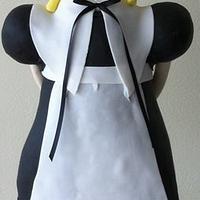 Lalaloopsy 3D pilgrim girl cake