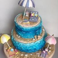 Beach cake !!
