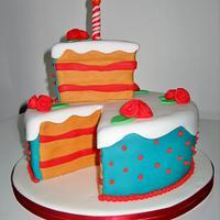 Slice of Cake Cake