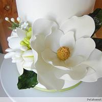 Single Southern Magnolia by Petalsweet