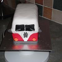 VW Camper Van by Debbie Sanderson