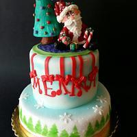Christmas Birthday cake for Melina / Μελίνα