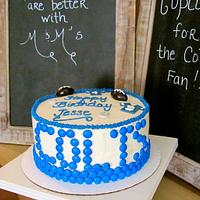 Indianapolis Colts Cake by Melissa
