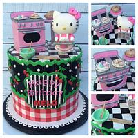 Hello Kitty baker
