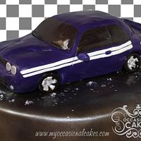 Dodge Challenger Cake